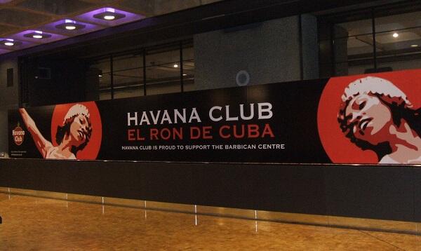 havana club hoarding