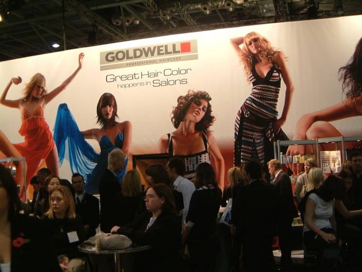 large exhibition backdrop